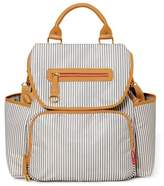 Skip Hop SKIP*HOP® Grand Central Take-It-All Backpack Diaper Bag in French Stripe