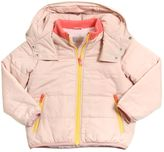 Stella McCartney Nylon Puffer Jacket With Plush Lining