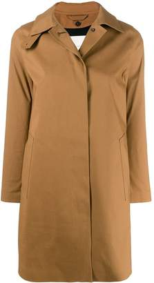 MACKINTOSH concealed fastening trench coat