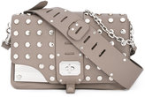 Versace Stardvst studded shoulder bag - women - Leather/metal - One Size