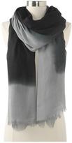 Hat Attack Ombre Scarf (Grey/Black) - Accessories