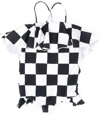 Wolf & Rita Checkered Swimsuit