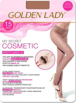 Golden Lady Goldenlady Women's Mysecret 15 Cosmetic Hold-Up Stockings 15 DEN