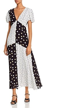 Rahi Confetti Patchwork Maxi Dress