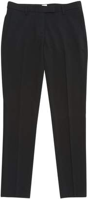 True Royal Black Wool Trousers