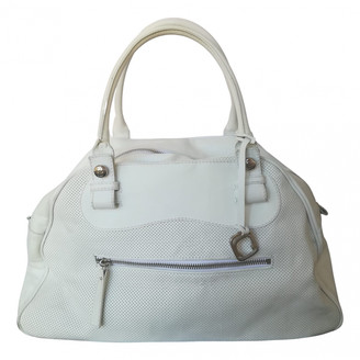 Orciani White Leather Travel bags