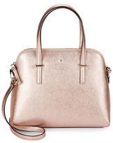 Kate Spade Leather Dome Satchel Handbag