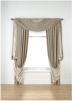 Laurence Llewellyn Bowen Laurence Llewelyn Bowen Grande Finale Faux Silk Reversible Slot Top Curtains