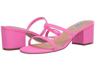 Steve Madden Issy Heeled Sandal (Pink Neon) Women's Shoes