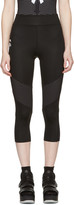 Fendi Black Perforated Karlito Yoga Leggings