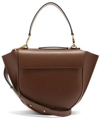 Wandler Hortensia Medium Leather Cross-body Bag - Brown