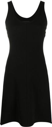 Helmut Lang Sleeveless Fitted Mini Dress