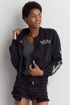 American Eagle Outfitters AE Silver Linings Bomber Jacket