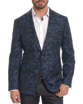 Robert Graham Portgrain Camouflage Slim Fit Sport Coat