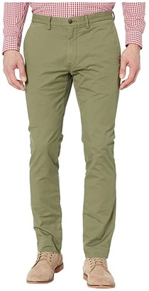 Polo Ralph Lauren Slim Fit Stretch Chino Pants (Army Olive) Men's Casual Pants