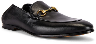 Gucci Horsebit Leather Loafer in Nero | FWRD