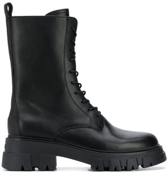 Ash High-Ankle Leather Boot