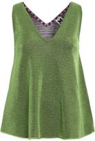 M Missoni V-neck Lurex Blend Tank Top