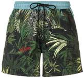 Etro Tropical print swim shorts