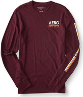 Long Sleeve Aero New York Logo Graphic T
