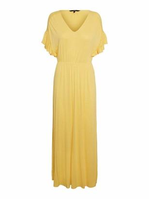 Vero Moda Women's VMDONNA SL Maxi Dress JRS DA Casual