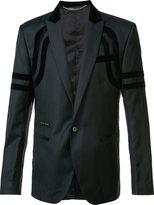 Philipp Plein one button blazer