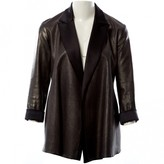 STOULS Black Leather Jacket for Women