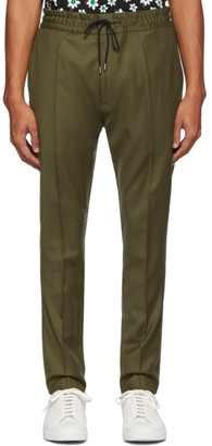 HUGO Green Wool Zander Trousers