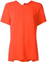 Proenza Schouler tied back blouse - women - Acetate/Viscose - 0