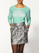 Pim + Larkin Sequin Stripe Sweater