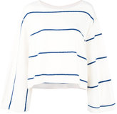 Dusan cashmere striped flared jumper - women - Cashmere - One Size