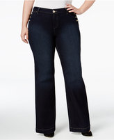 Style&Co. Style & Co. Plus Size Rinse Wash Bootcut Jeans, Only at Macy's