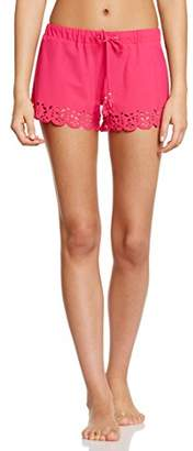 Bananamoon Banana Moon Women's Meow Huawei Shorts, Noir (Noir Blac/Sensta/May/Bye), 40 (Sizes: M)