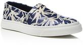 Marc Jacobs Leaf Print Slip On Sneakers