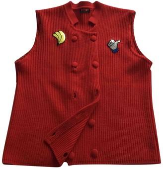 Christian Lacroix Red Wool Knitwear for Women Vintage