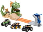 Hot Wheels Monster Jam Dragon Playset Buildup