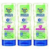 Banana Boat Protect & Hydrate Sunscreen Lotion 2 in 1 SPF 50, 6 FZ (Pack of 3)