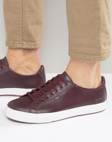 Kickers Tovni Lacer Leather Trainers