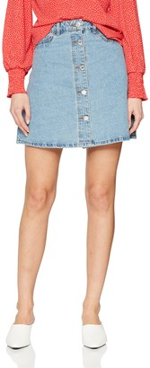 Name It NOISY MAY Women's Nmsunny Shortdnm Skater Skirt Gu124 Noos