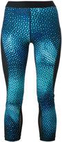Nike printed cropped leggings - women - Polyester/Spandex/Elastane - XS