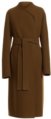 The Row Terin Virgin Wool-Blend Wrap Coat