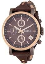 Fossil Women's Original Boyfriend Leather Watch, 38mm