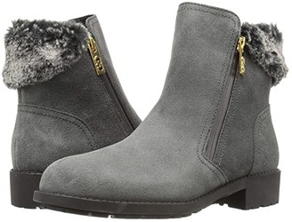 Cole Haan Quinney WP Bootie (Castlerock WP Suede/Shearling) Women's Boots