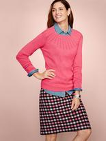 Talbots Cable-Yoke Sweater