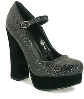 C Label Black Artie Platform Pump