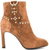 Lola Cruz Aniak Bootie in Brown