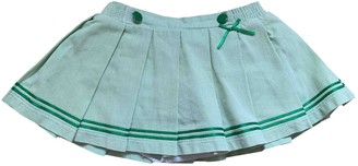 Christian Dior Green Cotton Skirts