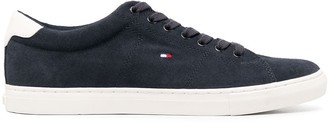 Tommy Hilfiger Logo Embroidered Sneakers