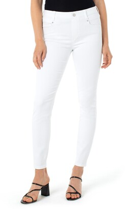Liverpool Gia Glider High Waist Ankle Skinny Jeans