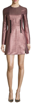 Carven Jacquard Fit And Flare Dress